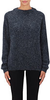 "Acne Studios Women's ""Dramatic"" Mohair-Blend Sweater-NAVY"