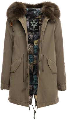 Mr & Mrs Italy Loden Jazzy Midi Parka With Padded Lining