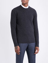 Tiger of Sweden Cable-knit wool jumper