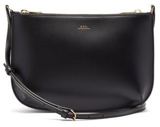 A.P.C. Sarah Smooth-leather Cross-body Bag - Black