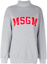 MSGM roll neck sweatshirt