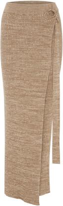 ANNA QUAN Matilde Cotton Wrap Skirt