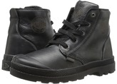 Palladium Pampa Hi Leather Zip (Little Kid)