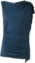 Paul & Joe one shoulder T-shirt - women - Silk/Polyamide - 1