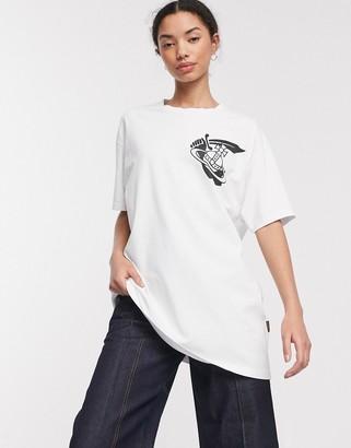 Vivienne Westwood boxy logo tee-White
