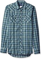 Wrangler Men's Big and Tall Long Sleeve Western Fashion Snap Shirt