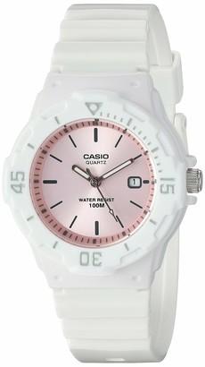 Casio Men's Classic Stainless Steel Quartz Watch with Resin Strap Black 18 (Model: LRW-200H-4E3VCF)