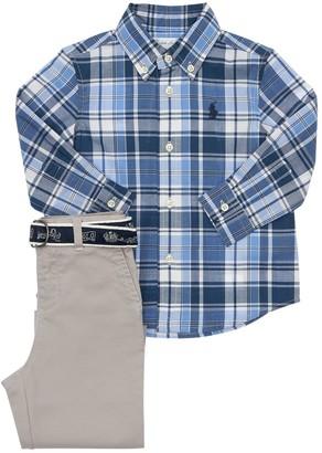 Ralph Lauren Check Cotton Shirt & Pants
