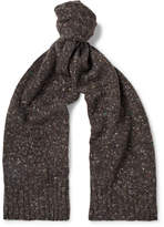 Anderson & Sheppard - Donegal Virgin Wool and Cashmere-Blend Scarf