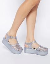 Asos HAPPY Flatform Jelly Shoes
