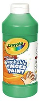 Crayola Washable Fingerpaint - Green (16 oz)