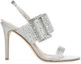 Via Spiga Macyn 2 Embellished Satin Sandals