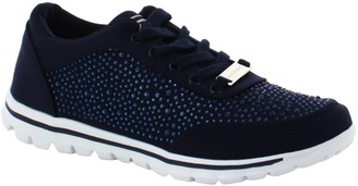 Laura Biagiotti Women's Lace Trainers
