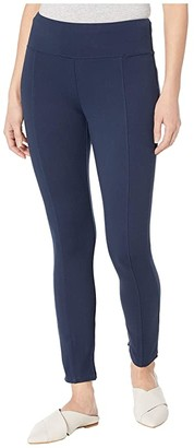 Vineyard Vines Skinny Ponte Ankle Pants (Vineyard Navy) Women's Casual Pants