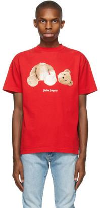 Palm Angels Red Bear T-Shirt