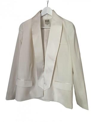 Haute Hippie White Wool Jacket for Women