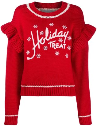 Philosophy di Lorenzo Serafini Holiday Treat knitted jumper
