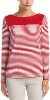 Brooks Brothers Striped Jersey Top