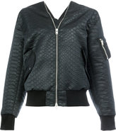 Yang Li zip through bomber - women - Polyester - 40