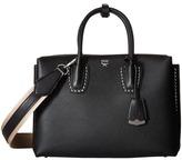 MCM Milla Studded Outline Medium Tote Tote Handbags
