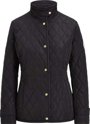 Ralph Lauren Crest-Patch Quilted Jacket