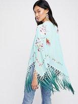 Free People Kiss The Sky Embroidered Kimono