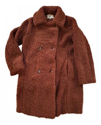 MKT Studio Brown Faux fur Coats