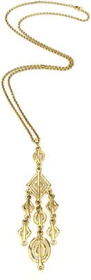 Ben-Amun Hammered Multi-Shape Dangle Necklace