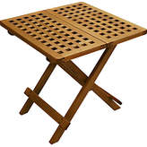 One Kings Lane Windsor Outdoor Folding Side Table