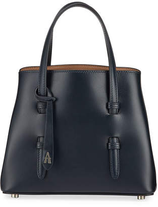 Alaia Mina Mini Smooth Leather Top Handle Bag