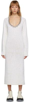 Bottega Veneta Off-White Chain Imperfect Dress