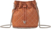 Stella McCartney Falabella Studded Quilted Bucket Bag