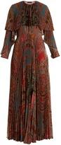 Etro Makalu paisley-print chiffon gown