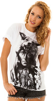 Rook The Running Wolf Tee in White