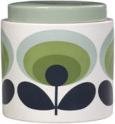 Orla Kiely 70s Oval Storage Jar - 1L - Green