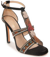 Lola Cruz 307Z04BK - Beaded Sandal