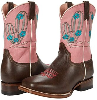 Roper Cactus Cutie (Toddler/Little Kid) (Brown) Cowboy Boots