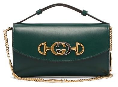 41188f3a59f Gucci Green Chain Strap Handbags - ShopStyle