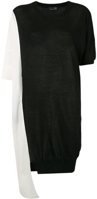 Y's two tone T-shirt dress