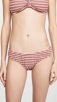 Madewell Uma Stripe Scrunch Bikini Bottoms