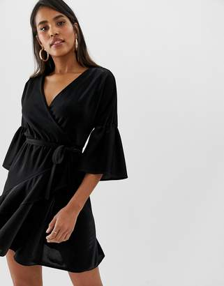 French Connection shimmer jersey mini dress