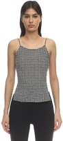 Maryam Nassir Zadeh THEA OPEN BACK GINGHAM TOP