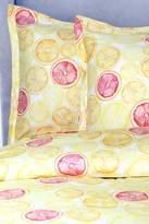 Melange Home Lemon Lime Duvet Set - Orange/Yellow