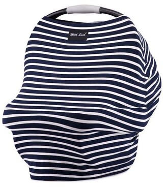 Milk Snob Multi Use Baby Car Seat Cover Marine Stripe