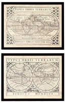 Eichholtz Ec201 Vintage Maps Print Set Of 2