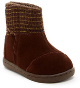 Toms Suede Metallic Nepal Boot (Baby, Toddler, & Little Kid)