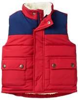 Crazy 8 Colorblock Puffer Vest