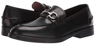 Salvatore Ferragamo Arlin Loafer (Black) Men's Slip on Shoes