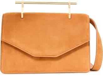 M2Malletier Indre Suede Shoulder Bag