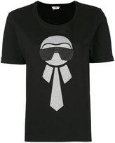 Fendi Karlito T-shirt - women - Cotton - 40